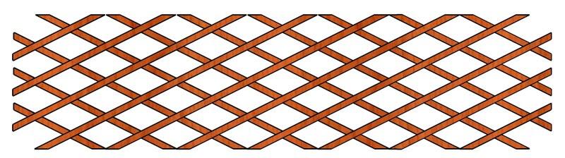 Mříž Dekora 170 x 50