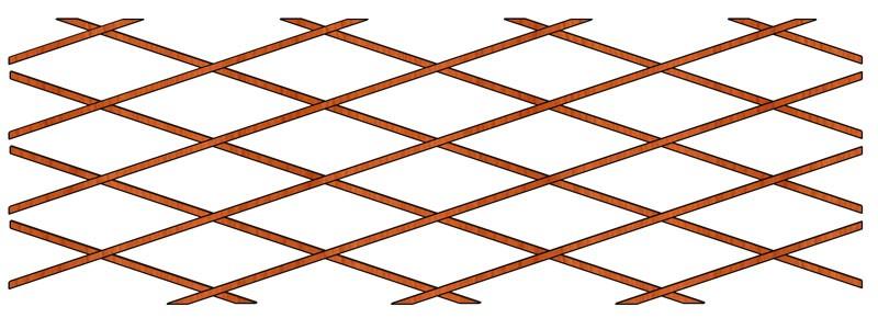 Mříž Dekora 600 x 100