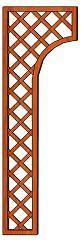 Mříž Lada 30-65 x 203