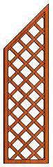 Mříž Lada 50 x 180/135