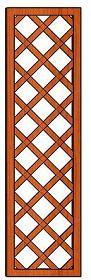 Mříž Pergola 41 x 150