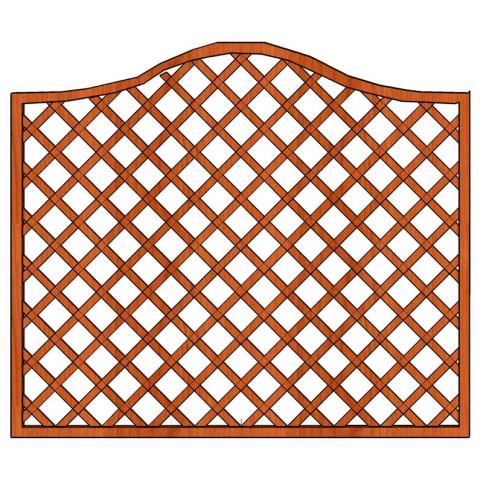 Mříž Zuzana s vlnkou 180 x 135