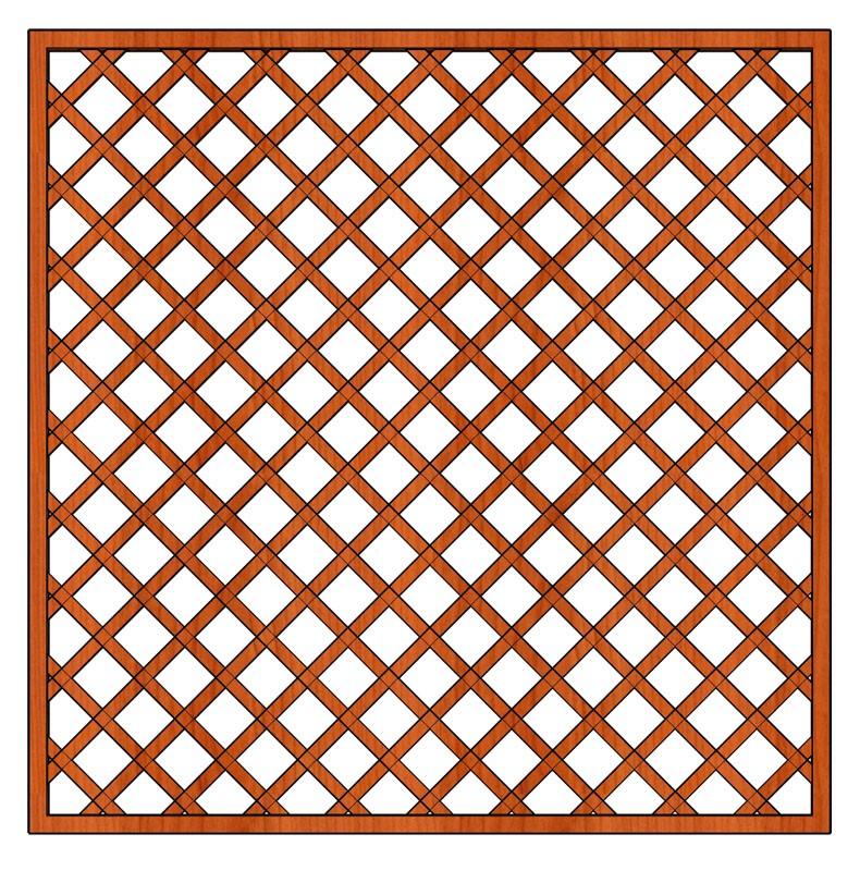 Mříž Zuzana 180 x 180