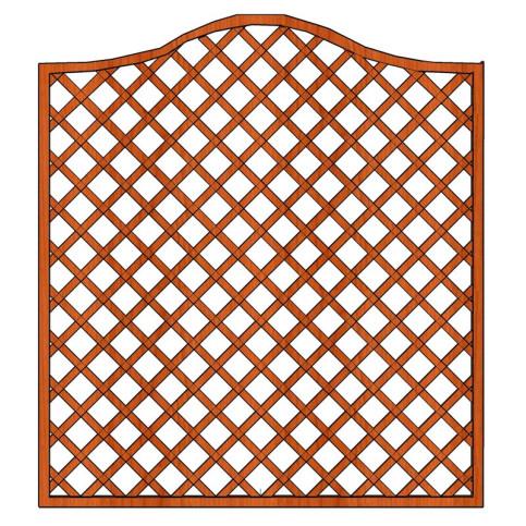 Mříž Zuzana s vlnkou 180 x 180