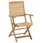 Skládací židle s opěrkami Lake Moraine