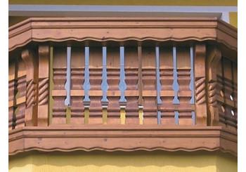 Bavorské balkonové sloupky