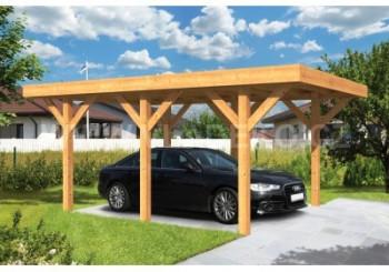 Dřevěné garáže a garážová stání