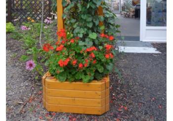 Dřevěné truhlíky Exclusiv