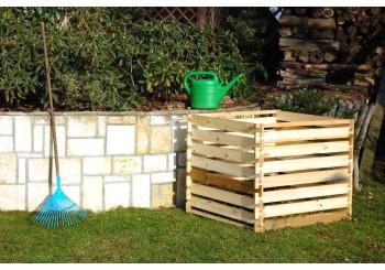 Dřevěné kompostéry