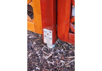 Zemní vruty a úchyty pro pergoly a ploty