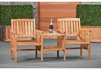 Zahradní nábytek z teakového dřeva