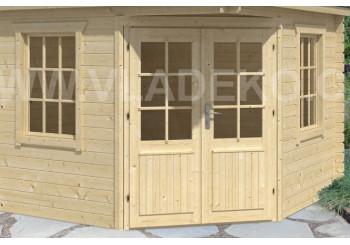 Dveře a okna pro zahradní domky
