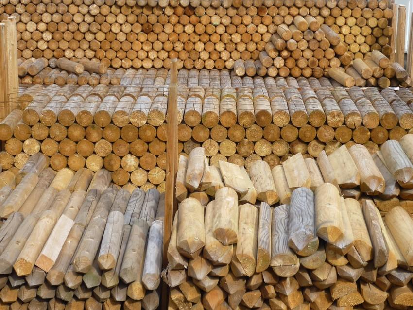 Palisády z impregnovaného dřeva