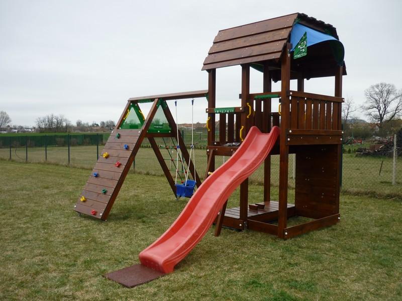 dětské hřiště jungle gym s modulem