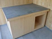 Dřevěná bouda pro psa