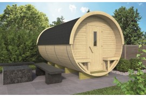 Zahradní domek Barrel